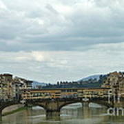 Florence. Ponte Vecchio Poster by Anna and Sergey