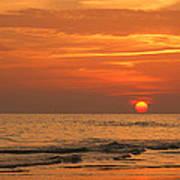 Florida Sunset Poster by Sandy Keeton