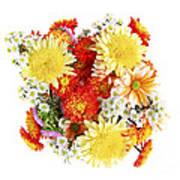 Flower Bouquet Poster by Elena Elisseeva