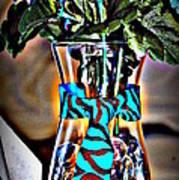 Flower Tie Poster by Joyce Brooks