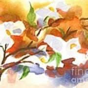 Flowering Dogwood IIi Poster by Kip DeVore