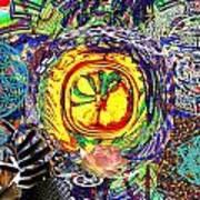 Flowering Shiva Poster by Jason Saunders