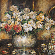 Flowers Of My Heart Poster by Dariusz Orszulik