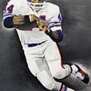Floyd Little Poster by Don Medina