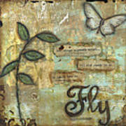 Fly Poster by Shawn Petite