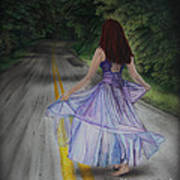 Follow Your Path Poster by Jackie Mestrom