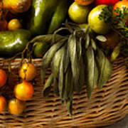 Food - Veggie - Sage Advice  Poster by Mike Savad