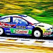 Ford Focus Wrc Poster by motography aka Phil Clark