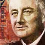 Franklin D. Roosevelt Poster by Corporate Art Task Force