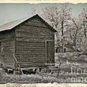 Frosty Morning Sepia 1 Poster by Chalet Roome-Rigdon