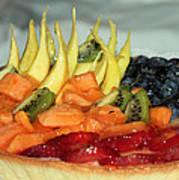 Fruit Tart Poster by Kristin Elmquist