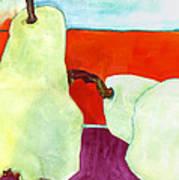Fundamental Pears Still Life Poster by Blenda Studio