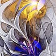 Galvanized Poster by Anastasiya Malakhova