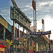 Game Day - Fenway Park Poster by Joann Vitali