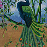 Garden Jewel 1 Hand Embroidery Poster by To-Tam Gerwe
