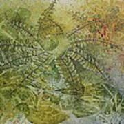 Garden Mist Poster by Patsy Sharpe