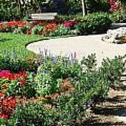 Gardenscape Poster by Aimee L Maher Photography and Art Visit ALMGallerydotcom
