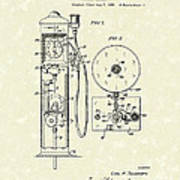 Gears 1935 Patent Art Poster by Prior Art Design
