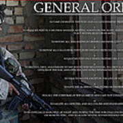 General Orders Poster by Annette Redman