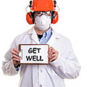 Get Well Poster by Edward Fielding
