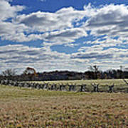 Gettysburg Battlefield - Pennsylvania Poster by Brendan Reals