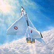 Ghost Flight Rl206 Poster by Michael Swanson
