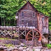 Glade Creek Grist Mill Poster by Steve Harrington