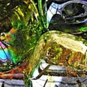 Glass Abstract 119 Poster by Sarah Loft