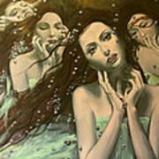 Glissando Poster by Dorina  Costras