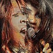 Gloria Gaynor  Poster by Orfeu De SantaTeresa