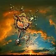 God's Dusk Poster by Franziskus Pfleghart
