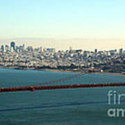 Golden Gate Bridge Poster by Linda Woods