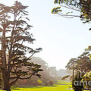 Golden Gate Park San Francisco Poster by Artist and Photographer Laura Wrede