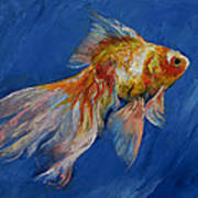 Goldfish Poster by Michael Creese