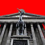 Goma Pop Art Red Poster by John Farnan