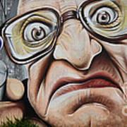 Graffiti Art Curitiba Brazil 22 Poster by Bob Christopher