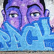 Graffiti Art Santa Catarina Island Brazil Poster by Bob Christopher