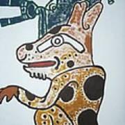 Gran Jaguar Iv Poster by Juan Francisco Zeledon