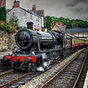 Great Western Locomotive Poster by Adrian Evans