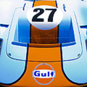 Gulf Ford Gt40 Poster by motography aka Phil Clark