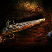 Gun - Pistol - Romance Of Pirateering Poster by Mike Savad