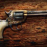 Gun - Police - True Grit Poster by Mike Savad