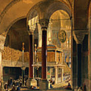 Haghia Sophia, Plate 8 The Imperial Poster by Gaspard Fossati