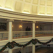 Hall Of Presidents Walt Disney World Panorama Poster by Thomas Woolworth