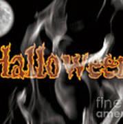 Halloween Poster by Angela Pelfrey