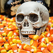 Halloween Candy Corn Poster by Edward Fielding