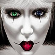 Harlequin Poster by Bob Orsillo