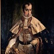 Hayez Francesco, Portrait Of Emperor Poster by Everett
