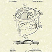 Head Protector 1914 Patent Art Poster by Prior Art Design