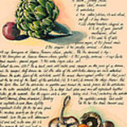 Hearty Casserole Poster by Alessandra Andrisani